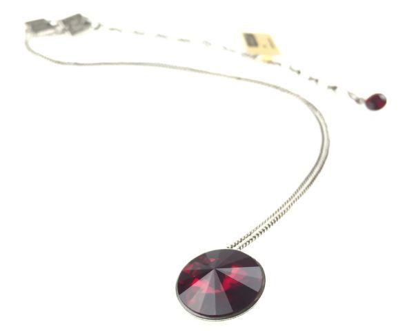 Konplott Rivoli rote Halskette mit Anhänger #5450527495288