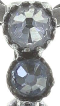 Konplott Studio 54 Halskette mit Anhänger in hellblau Silberfarben #5450543748436