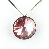 Konplott Rivoli light rose Halskette mit Anhänger