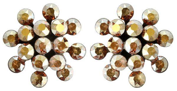 Konplott Magic Fireball Ohrstecker gold mini #5450543683324
