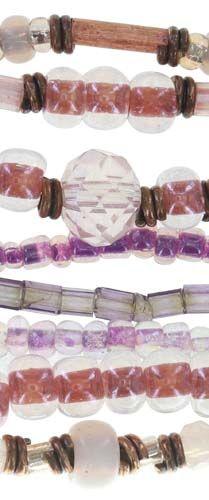 Konplott Petit Glamour d'Afrique Armband in pink #5450543722320