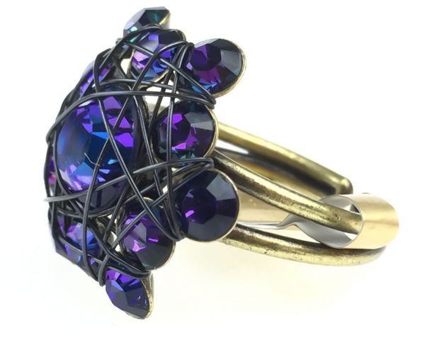 Konplott Bended Lights Ring in Violett #5450527759946