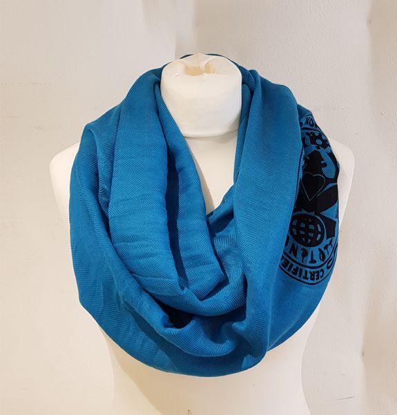 Konplott Loop Schal in Algerian Blue #5450543553238