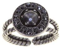 Simply Beautiful Ring in schwarz