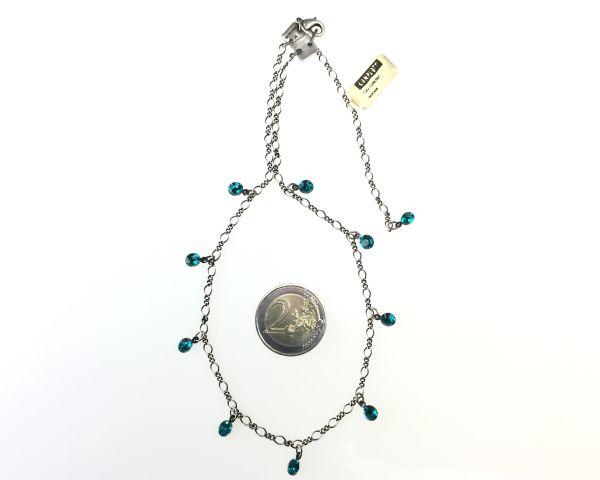 Konplott Tutui blue zircon Halskette steinbesetzt #5450527591560