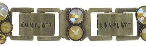 Konplott Inside Out Armband in gelb #5450543727141