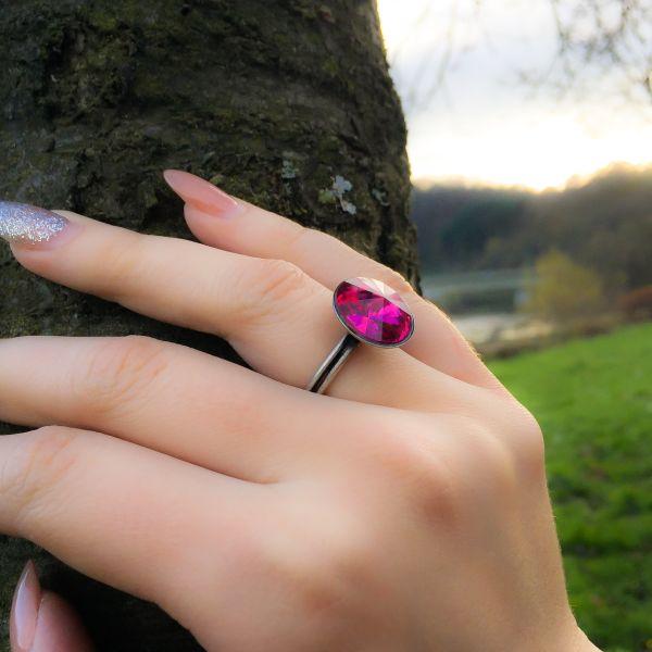 Konplott Rivoli fuchsia Ring pink #5450527612937