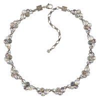 Konplott Petit Glamour steinbesetzte Halskette in weiß