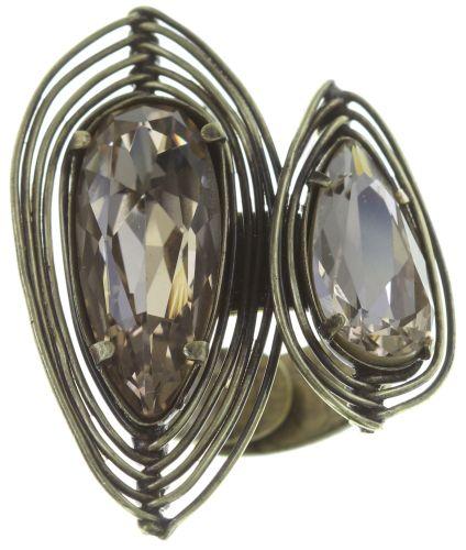 Konplott Amazonia Ring in beige, Größe M,S #5450543753669