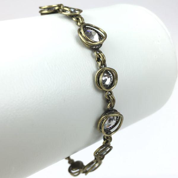 Konplott Sparkle Twist weißes Armband verschließbar #5450543340449