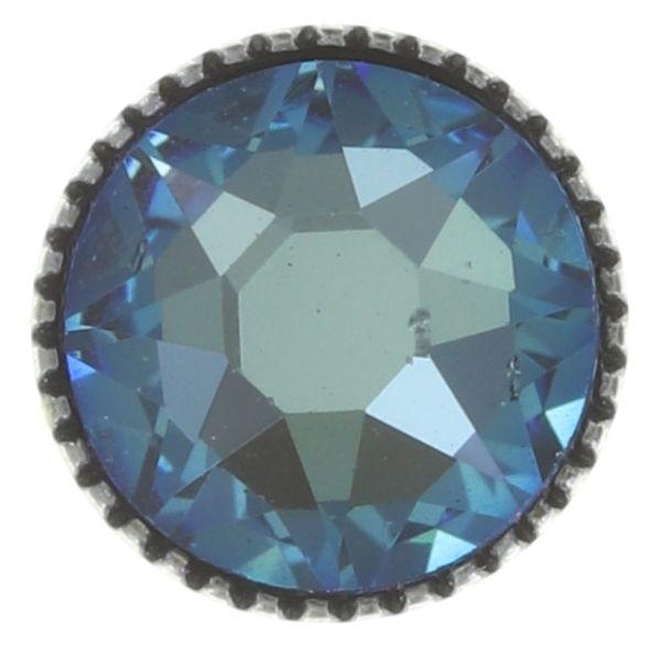 Konplott Black Jack Ohrstecker groß in blau crystal army grün #5450543768786
