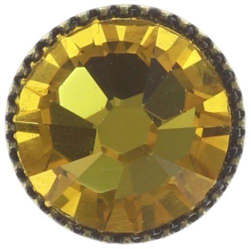 Konplott Black Jack Ohrstecker klassisch groß in yellow sunflower #5450543278292