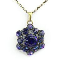 Konplott Bended Lights Halskette mit Anhänger in Violett