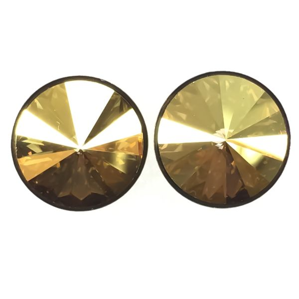 Konplott Rivoli metallic sunshine Ohrstecker klassisch #5450543316697