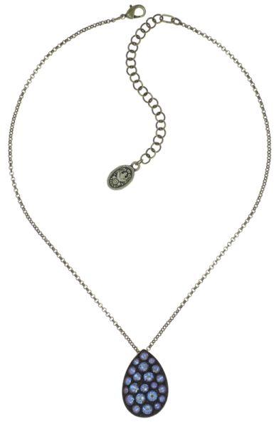 Tears of Joy Halskette mit Anhänger in braun crystal cappucci Größe L
