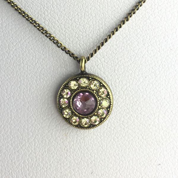Konplott Spell on You Halskette mit Anhänger in lila #5450543627748