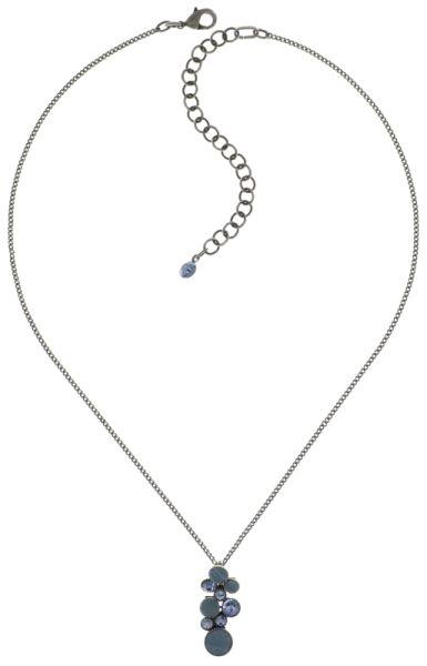 Konplott Planet River Halskette mit Anhänger blau #5450543644240