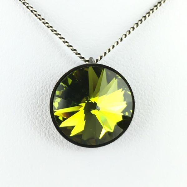 Konplott Rivoli olivine Halskette mit Anhänger #5450527640800