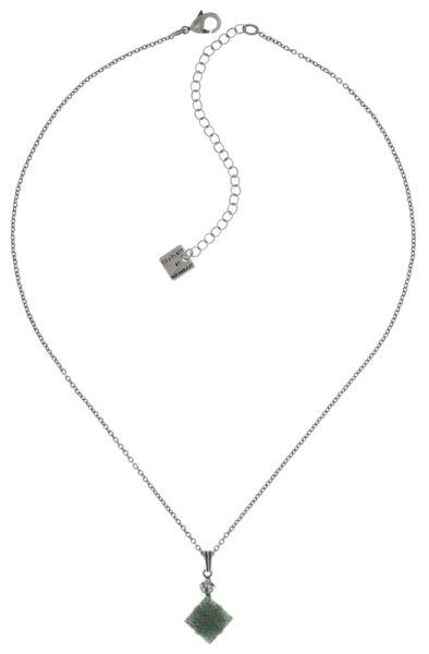 Konplott Cleo Halskette mit Anhänger in grün #5450543716503