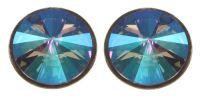 Konplott Rivoli Ohrstecker in lila crystal paradise