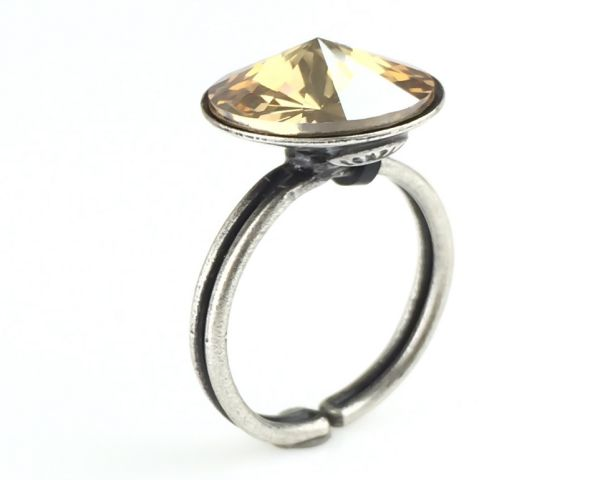 Konplott Rivoli crystal golden shadow Ring #5450527640770