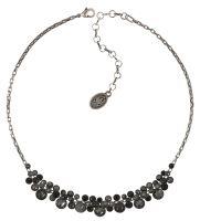 Konplott Water Cascade steinbesetzte Halskette in schwarz