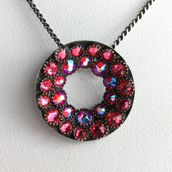 Konplott Inside Out pinke Halskette mit Anhänger #5450543641522