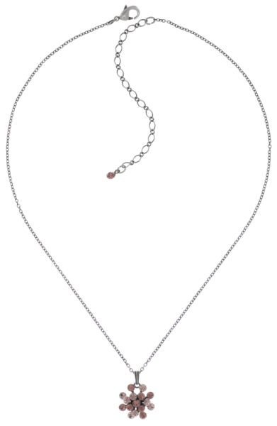 Konplott Magic Fireball Halskette mit Anhänger klassisch mini in pink/rosa #5450543754888