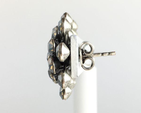 Konplott Magic Fireball Ohrstecker klassisch in light grey opal #5450527767392