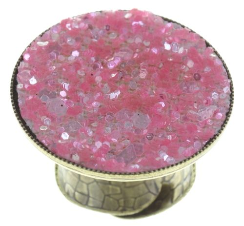 Konplott Studio 54 Ring in pink Messing #5450543748757