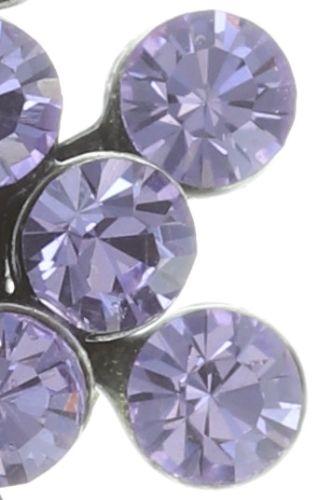 Konplott Magic Fireball Ohrstecker Mini in Lila/Violet #5450543721453
