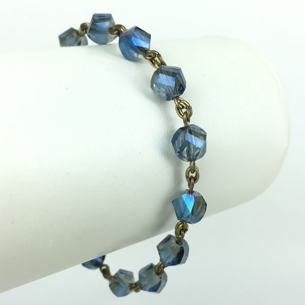Konplott Pool-Side Flower blaues Armband verschließbar #5450543468112