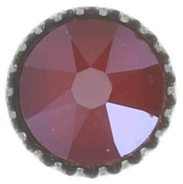 Konplott Black Jack Ohrstecker klassisch klein in rot crystal royal red #5450543723921