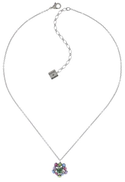 Konplott Caviar Treasure Halskette mit Anhänger in pastel multi #5450543709277