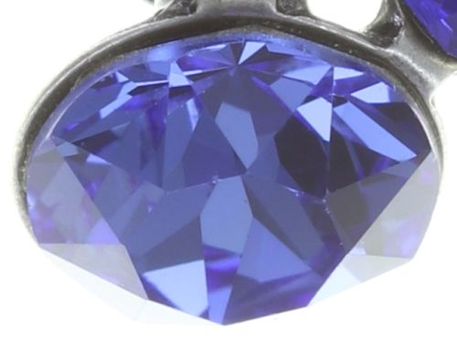 Konplott Disco Star Ohrstecker in dunkel blau #5450543727325