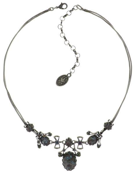 Konplott Dracula Bride Halskette in hellblau #5450543674872