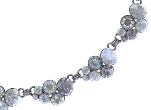 Konplott Petit Glamour steinbesetzte Halskette in weiß #5450543760209