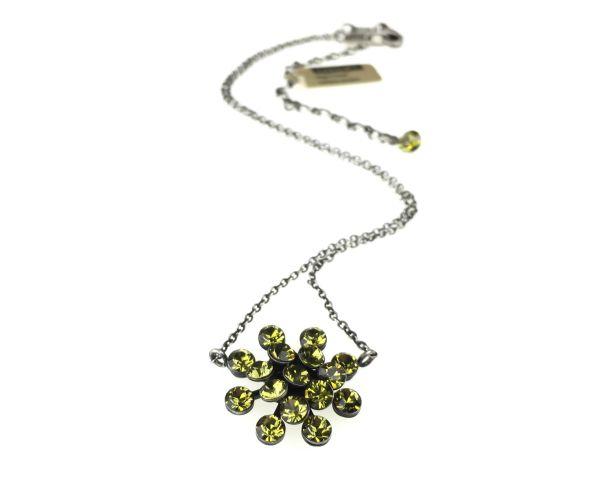 Konplott Magic Fireball Halskette mit Anhänger in khaki #5450527640282