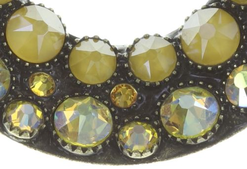 Konplott Inside Out Halskette mit Anhänger M in gelb #5450543727196