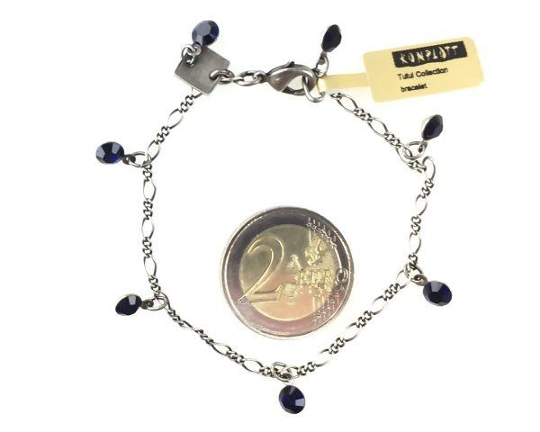 Konplott Tutui dark indigo Armband verschließbar #5450527612500
