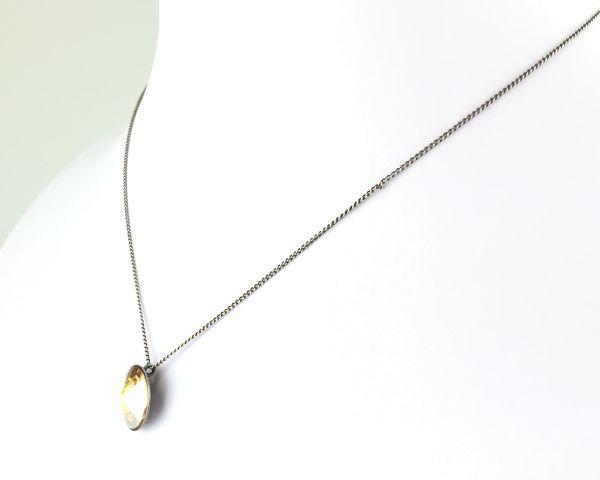 Konplott Rivoli crystal golden shadow Halskette mit Anhänger #5450527640787