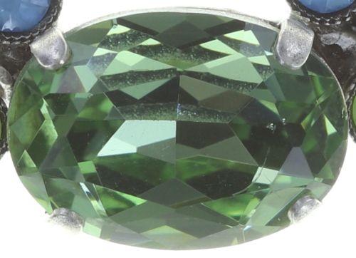 Konplott Caviar Treasure steinbesetzte Halskette in pastel multi #5450543728759