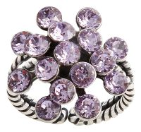Konplott Magic Fireball Ring Mini in Lila/Violet #5450543721460