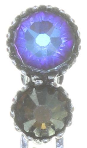 Konplott Water Cascade Ohrhänger in blau/braun #5450543753928