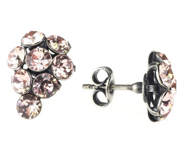 Konplott Magic Fireball Ohrstecker klassisch Traube in vintage rose #5450527611992