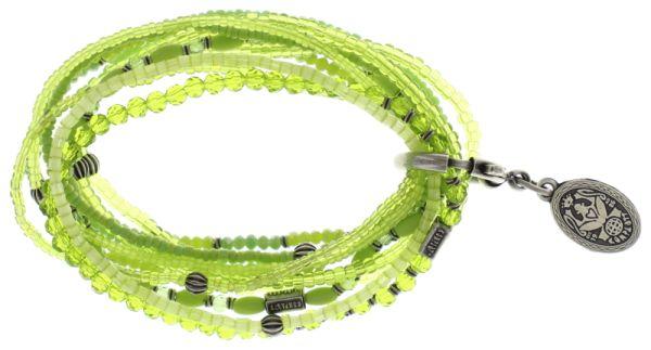 Konplott Petit Glamour d'Afrique Armband grün #5450543689166