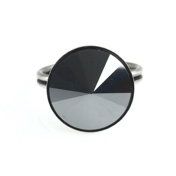 Konplott Rivoli schwarzer Ring #5450527612791