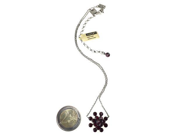 Konplott Magic Fireball Halskette mit Anhänger in siam #5450527640442