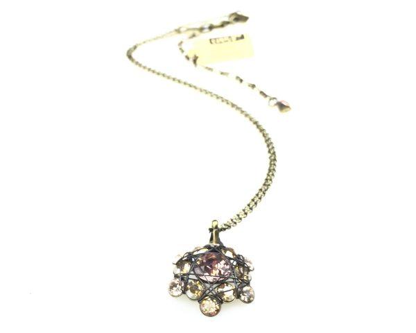 Konplott Bended Lights Halskette mit Anhänger in Beige #5450527758963