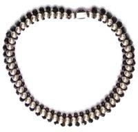 Konplott Bead Snakes elastisches Armband schwarz #5450543662343